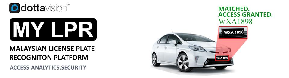 Dottavision Malaysia License Plate Recognition